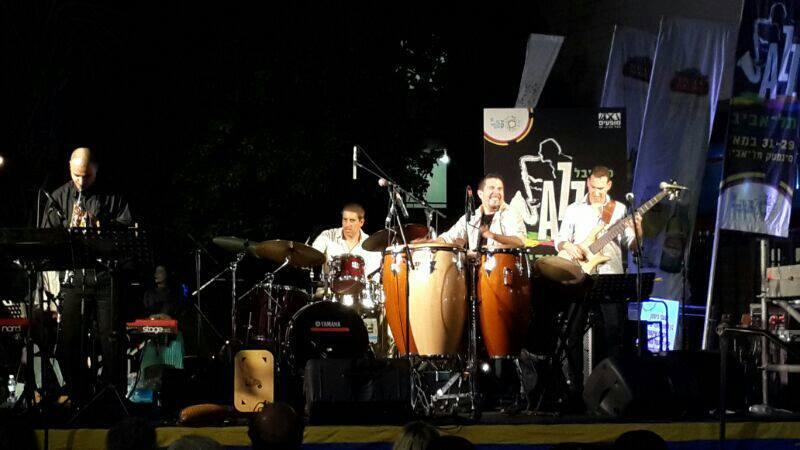 With Samuel Torres Quintet