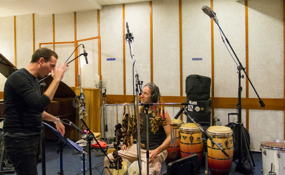 Session with master Gilad Dobrecky