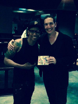 With Pedrito Martinez