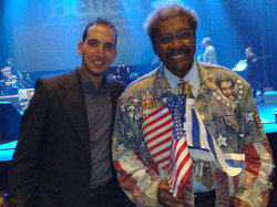 With Don King 2008