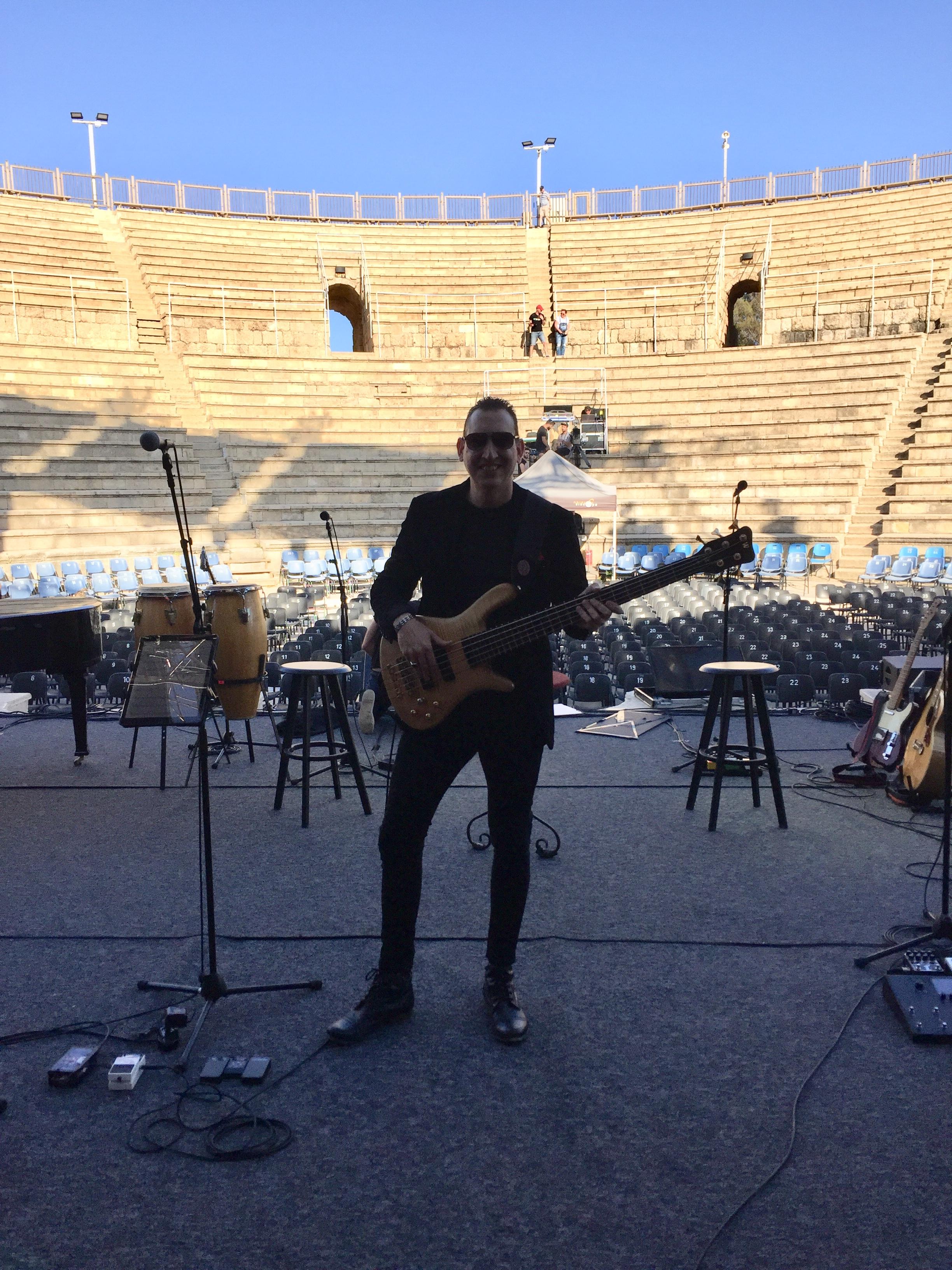 Performing at Caesaria 2019