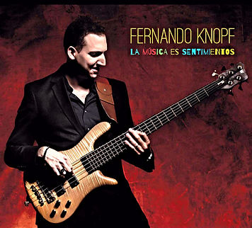 "Cover CD ""La Musica es Sentimientos"" by Fernando Knopf"
