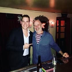 with Emilio Solla