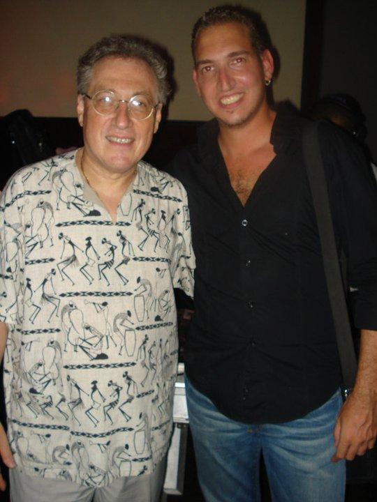 With Oscar Stagnaro