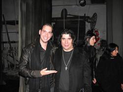 Con el gran Luis Salinas en Buenos Aires