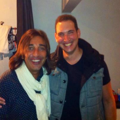 With Antonio Karmona (Ketama)
