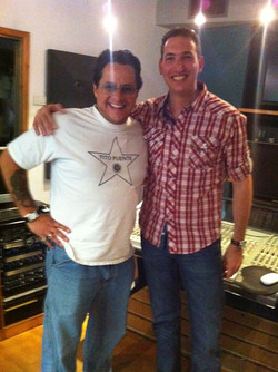 With Tito Puente Jr 2011