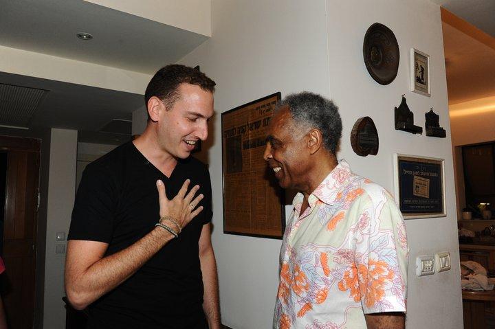 Con el gran Gilberto Gil!