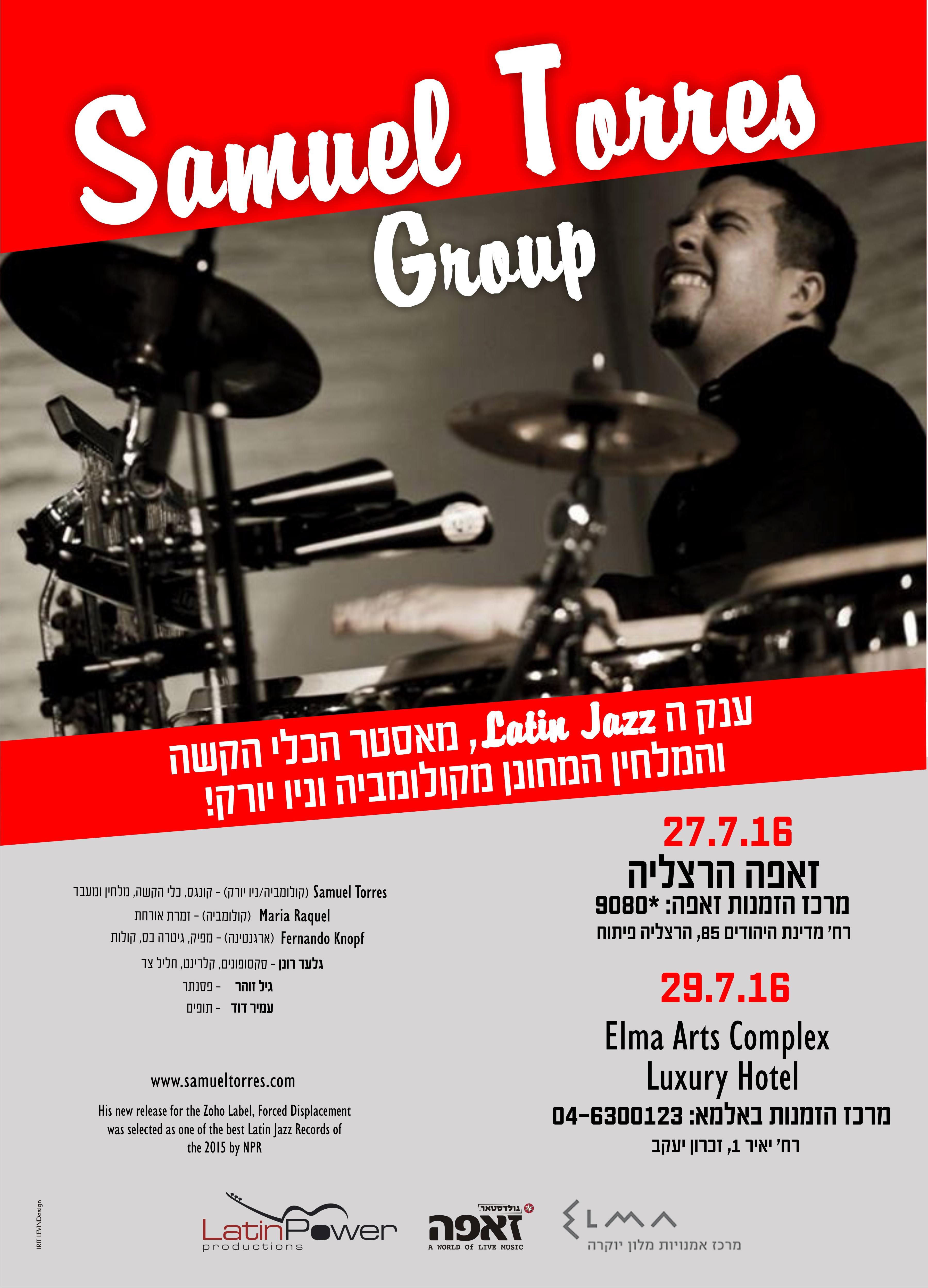Poster Samuel Torres 27-29.7