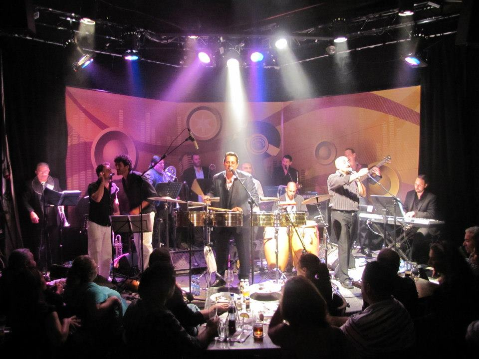 Tour with Tito Puente Jr 2011