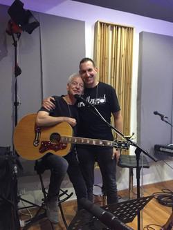 with Shalom Hanoch