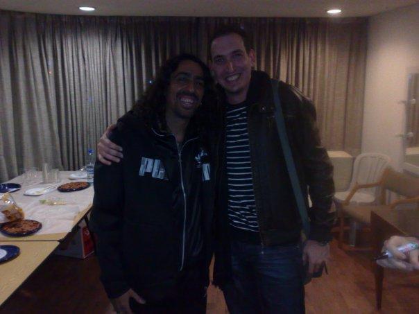 With Diego El Cigala