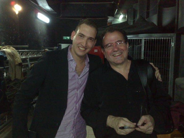 With master Accordionist Richard Galliano 2011