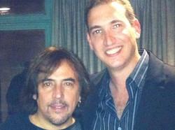 Con Alejandro Lerner
