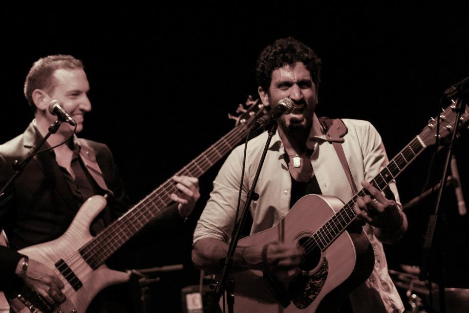 עם צחי הלוי במופע יחד בזאפה