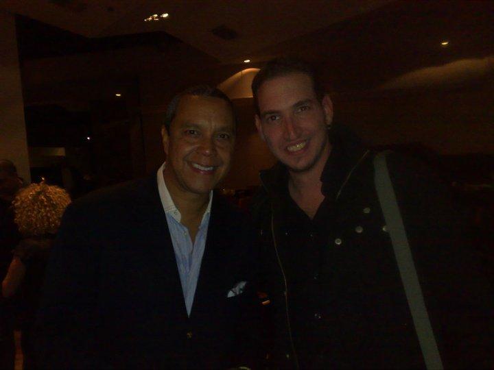 Con Herman Olivera