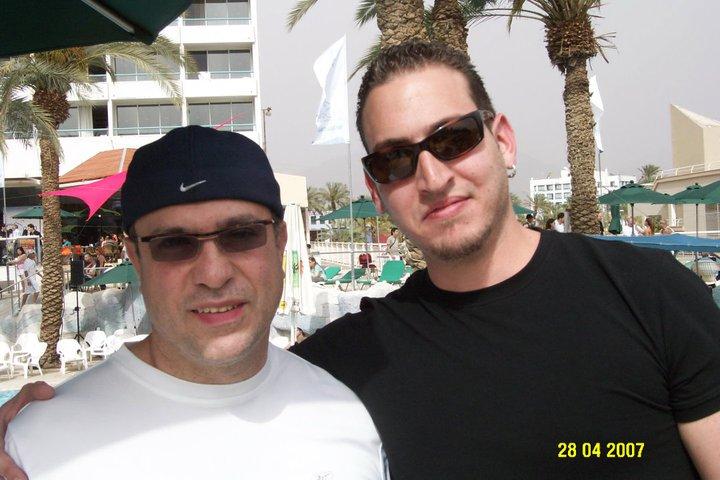 Con Oscar Hernandez - Eilat 2008