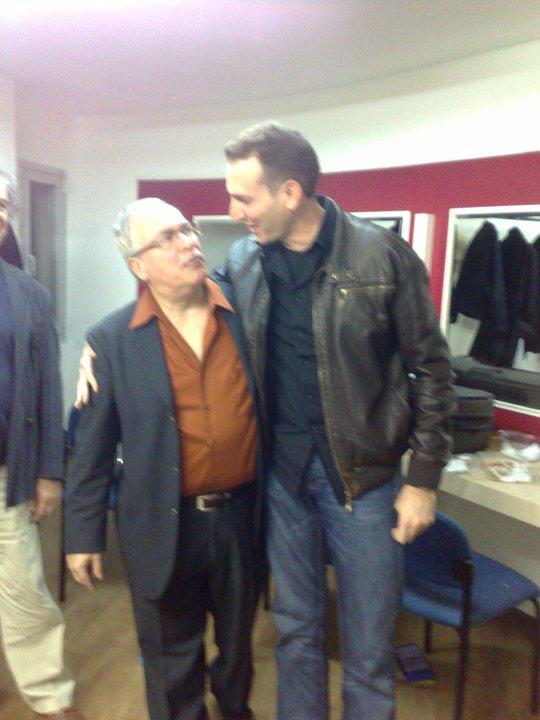With Eddie Gomez