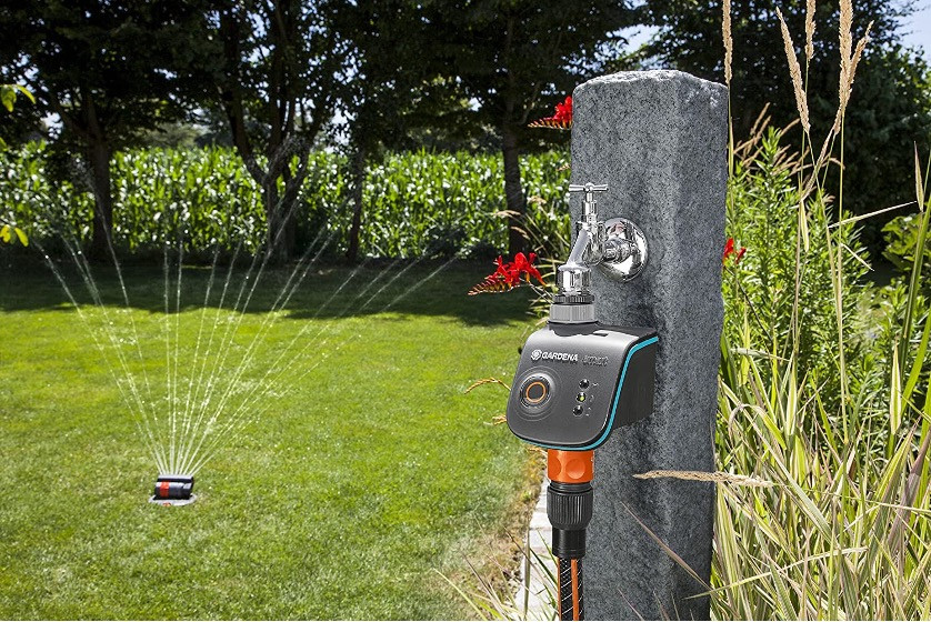 Die Smart Water Control bewässert Ihren Garten automatisiert und smart.