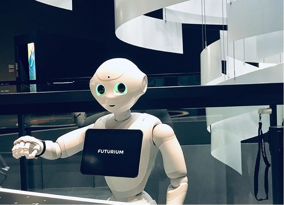 In Zukunft werden vermehrt Roboter im Smart Home vorzufinden sein.