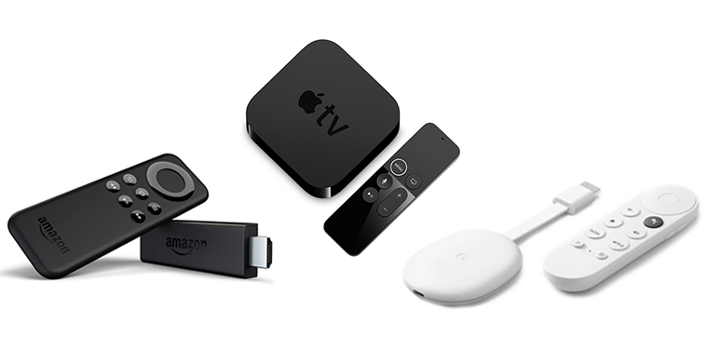 In Ihrem Smart Home können Sie externe Smart-TV-Geräte verwenden, um Ihren Fernseher smart aufzurüsten.