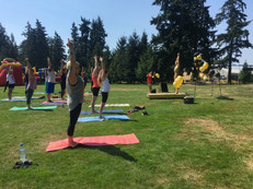 Hot26 Yoga at the Park