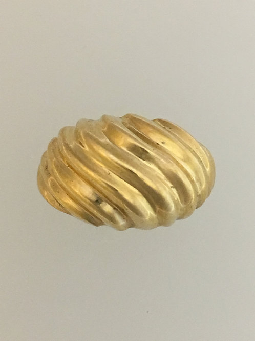 10k Yellow Gold Ring Size - 7 1/2