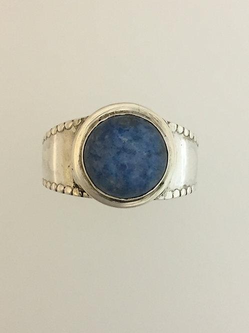 925 Lapis Ring Size - 8 1/4