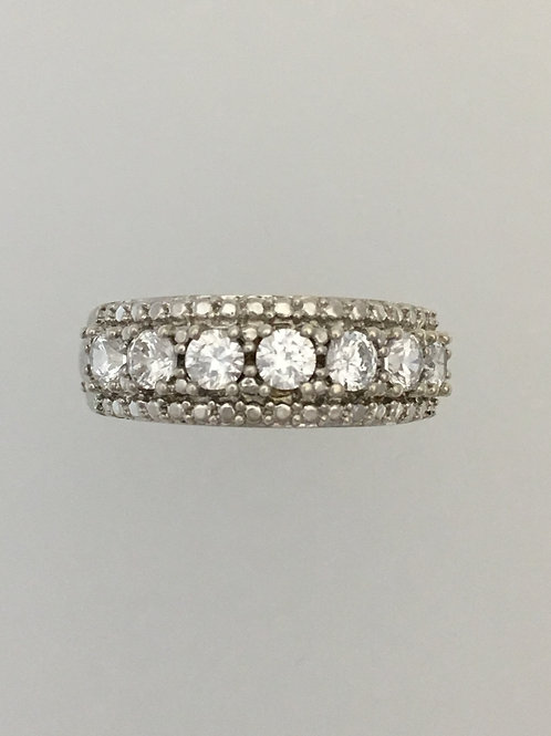 925 & CZ Ring Size - 7
