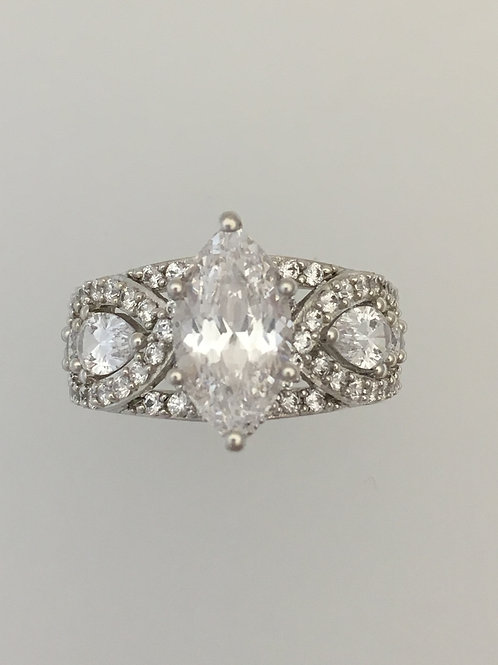 925 CZ Ring Size - 6