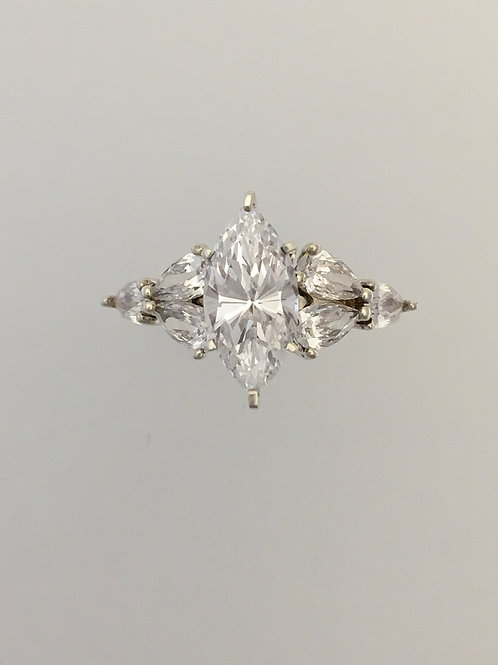 925 CZ Ring Size - 6 1/4