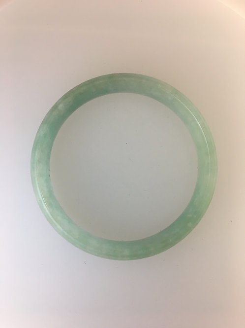 Jade Bangle Bracelet 14mm
