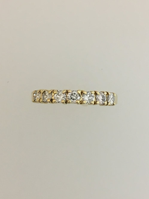 14k Yellow Gold .35 TW Diamond Ring Size - 6 1/2
