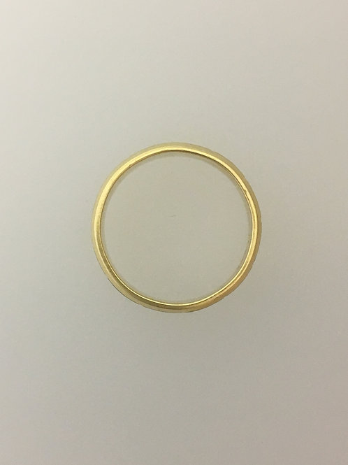 10k Yellow Gold/White Gold Bangle Bracelet 13mm Wide