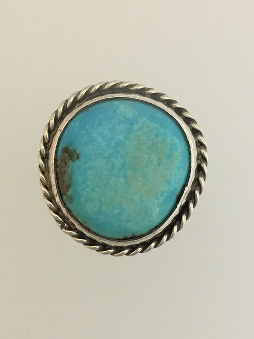 925 & Turquoise Ring Size - 6