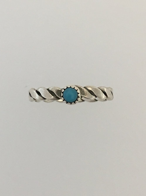 925 Turquoise Ring Size - 4