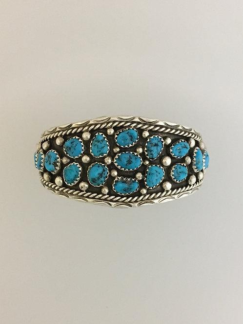 Child's 925 & Turquoise Bracelet