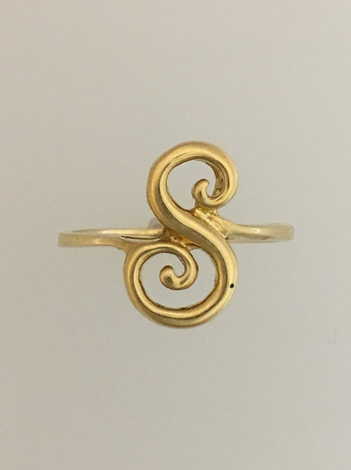 14k Yellow Gold Ring Size - 7