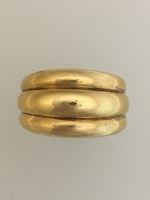10k Yellow Gold Ring Size - 6