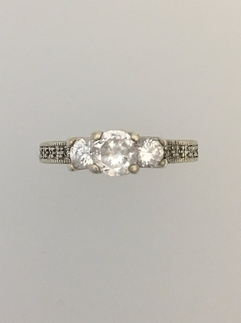 925 & CZ Ring Size - 9 1/2