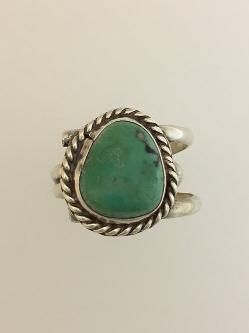 925 & Turquoise Ring Size - 9