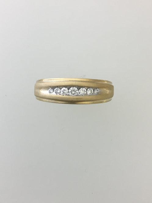 10k Yellow Gold .25 Diamond Ring Size - 13