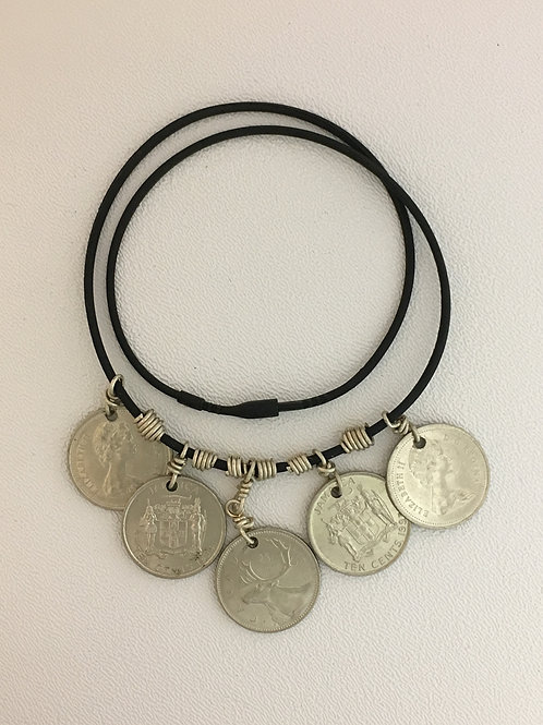 "925 Coin 18"" Necklace"