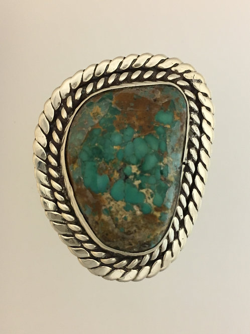 925 & Turquoise Ring Size - 11 1/2