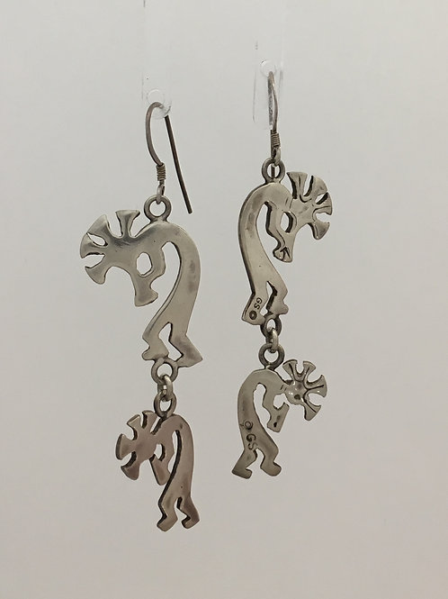 925 Kokapelli Earrings