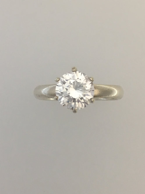 925 & CZ Ring Size - 9 1/4