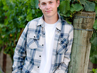 Piner High Senior Portraits Dawson