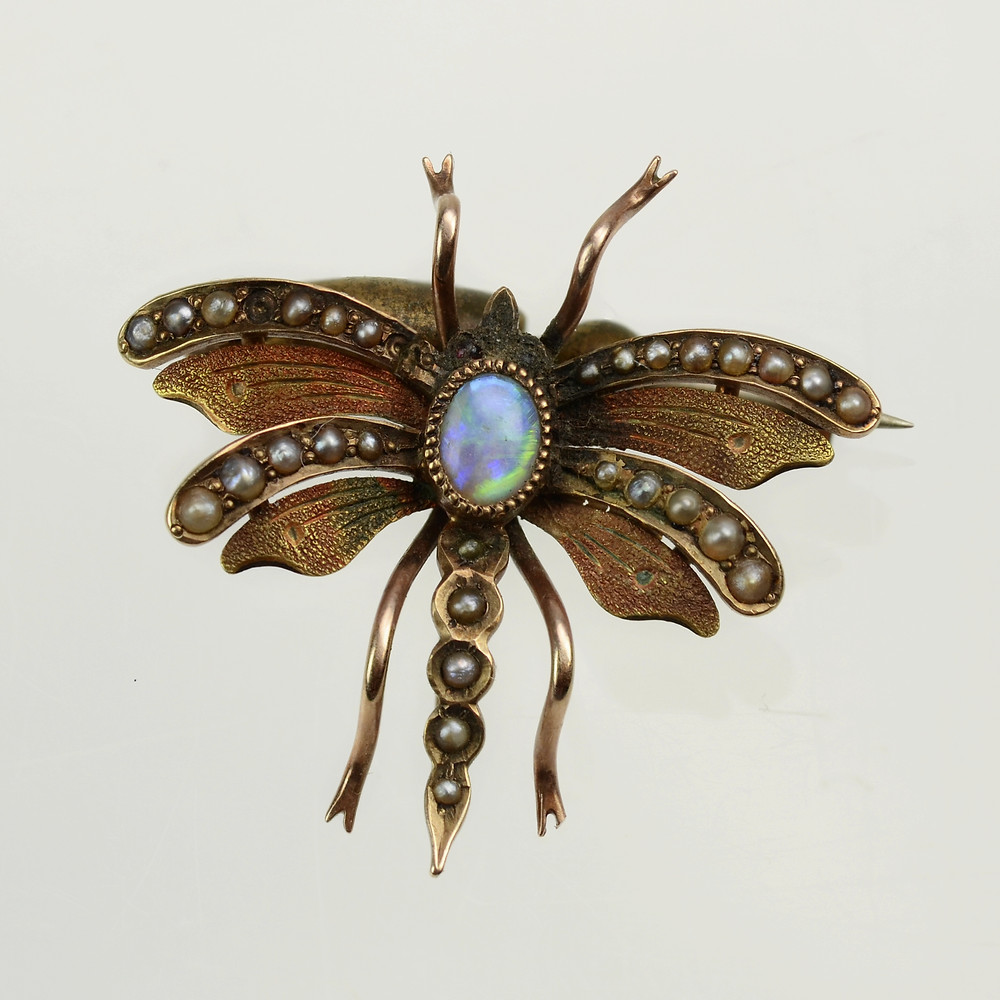 Victorian Butterfly Pin