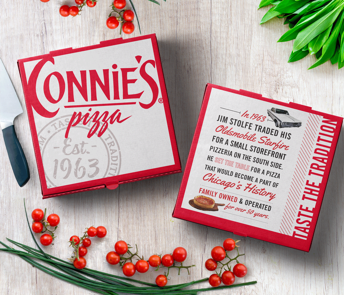 Connie's Pizza Box
