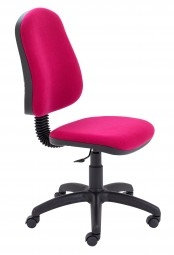 Prism High Back Operator Chair with Fixed Back Mechanism